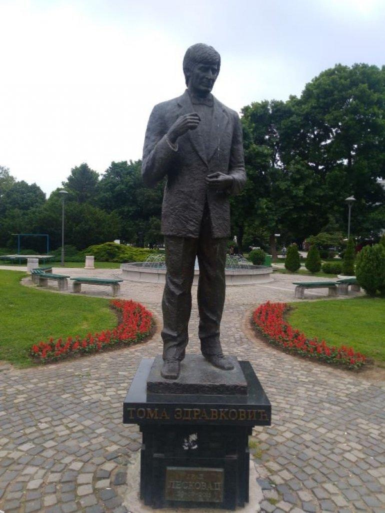 Leskovac Toma Spomenik